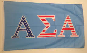 alpha sigma alpha sorority usa pattern letter flag brothers and