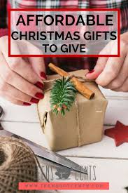 affordable christmas gifts teensgotcents