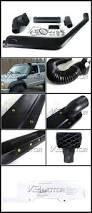 jeep snorkel install 84 95 jeep cherokee 4 0l black air snorkel intake kit
