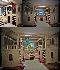 How To Make A Bunk Bed With Desk Underneath by Best 25 Cool Kids Beds Ideas On Pinterest Kid Bedrooms Kids