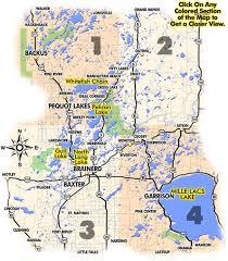 ideal resort map lodging mn lake resorts brainerd mn lake maps