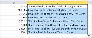 Count Number Of Words In Excel How To Spell Out Or Convert Numbers To Words In Excel