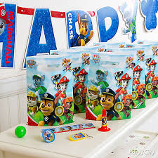 paw patrol favor pack for 8 idea party city