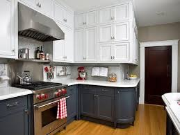 what to do in two tone kitchen with floor to ceiling pantry