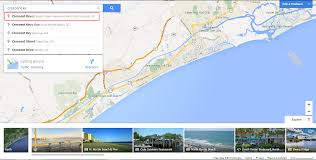 Map Of Myrtle Beach How To Use Google Maps To Scope Out Your Vacation Rental