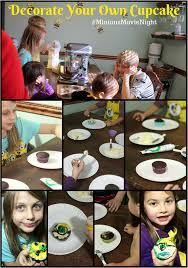 Decorate Your Own Cupcake How To Throw An Easy Minions Movie Night Party Real The Kitchen