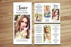 senior photography brochure v561 brochure templates creative