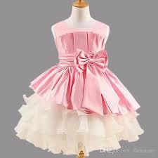 new girls dress princess dress children u0027s party wear dress big bow