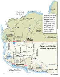 Map Of Vancouver Washington by Clark County Creates Two Zones For Fireworks The Columbian