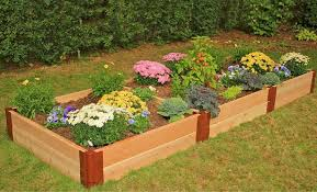 Cedar Raised Garden Bed Bedding Wonderful Raised Garden Bed Kit 4x4x11 Cedar By