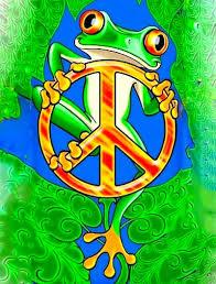 cartoon frog tattoo design