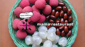 lychee fruit peeled how to cut and eat a lychee fruit كيفية تقشير و تناول فاكهة ليتشي