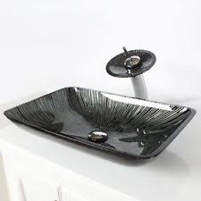 Vessel Sink Waterfall Faucet Vessel Sink Mounting Ring Ebay