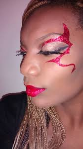 Halloween Devil Eye Makeup Devil Face Makeup Devil Face Related Keywords Amp Suggestions