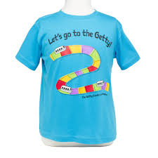 getty tram t shirt toddler sizes turquoise the getty store