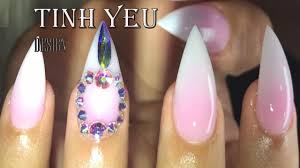 nail technician the best nail tinh yeu how to make shape the best