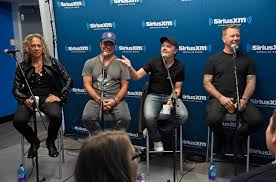 metallica teases u0027hardwired u2026 self destruct u0027 at siriusxm town