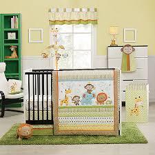 Safari Crib Bedding Set Kidsline Safari 4 Crib Bedding Set Nursery