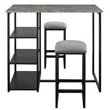 White Pub Table Set - modern bar pub tables allmodern