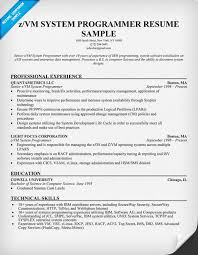 computer programmer entry level resume simple resume sample