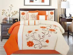 Confederate Flag Bedspread Orange Bedding Sets Hula Home