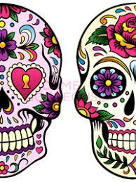 pictures sugar skull makeup for colorful sugar skull