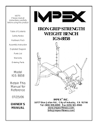 impex igs 8858 user manual 14 pages