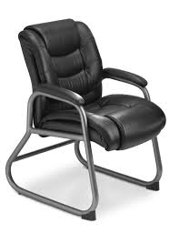 Small Black Leather Chair Black Leather Chair With Arm Rest Combined With Silver Steel Arm