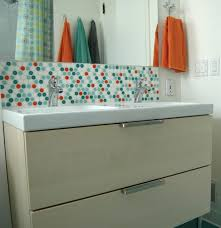 bathroom vanity backsplash ideas bathroom splendid bathroom tile backsplash ideas 134 our own