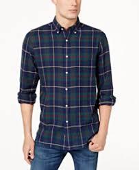 mens casual button shirts sports shirts macy s