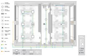 Modern Office Floor Plans by Modern Office Smart Lighting Engineering