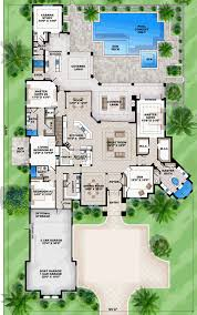 house plans with 4 car garage house plan 52915 at familyhomeplans com