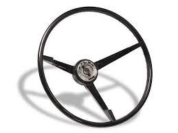 mustang steering wheels 1965 1966 mustang standard steering wheel black lamustang
