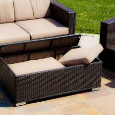 ottomans patio furniture lowes outdoor chairs built in ottoman