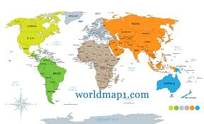 Vancouver Canada On World Map by Map Oceania