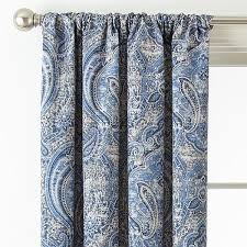 Jcpenney Purple Curtains Royal Velvet Florence Room Darkening Rod Pocket Back Tab Curtain