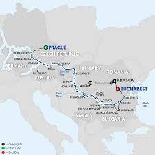 Passau Germany Map by Danube River Cruise Avalon Waterways