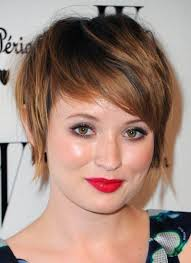 short hairstyles round face brunette archives women medium haircut