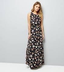 floral maxi dress mela multi coloured floral print maxi dress new look