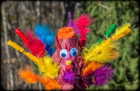 diy pipe cleaners paper mache turkey thanksgiving