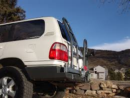 land cruiser lift kit slee toyota 100 series land cruiser rear bumper