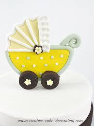 baby stroller baby shower cake