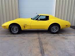 1976 corvette yellow 1976 chevrolet corvette 2 door coupe 177536