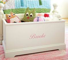 Diy Wooden Toy Box Bench by