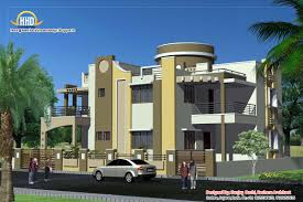floor plans and elevations of houses duplex house plan and elevation 3122 sq ft indian home decor
