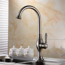 how to buy a kitchen faucet buy asbestos deck mount rotatable antique brass single handle