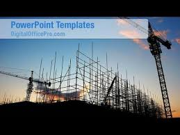ppt templates for electrical engineering construction site powerpoint template backgrounds digitalofficepro