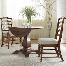 Drop Leaf Pedestal Table Furniture Waverly Place Drop Leaf Pedestal Dining