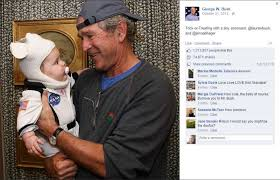 george w bush halloween picture explodes online houston chronicle