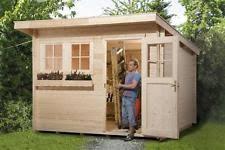 gartenhaus design flachdach gartenhäuser geräteschuppen mit flachdach ebay